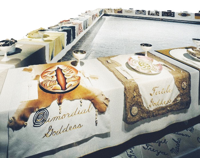 "Roots of ""The Dinner Party"": History in the Making Judy Chicago Q&Art questionsandart qandart"