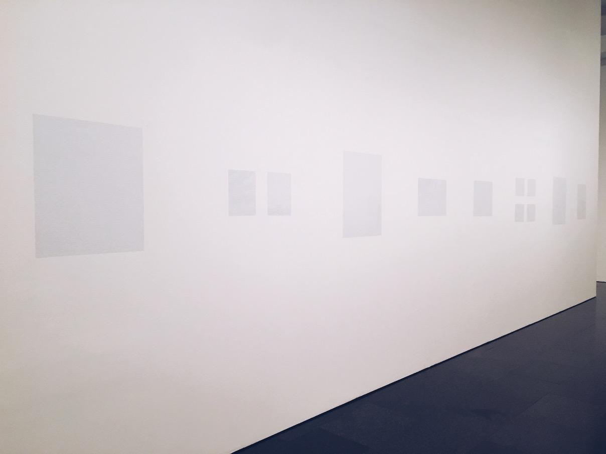 Ignasi Aballí Q&Art quandart questions and art MACBA Barcelona