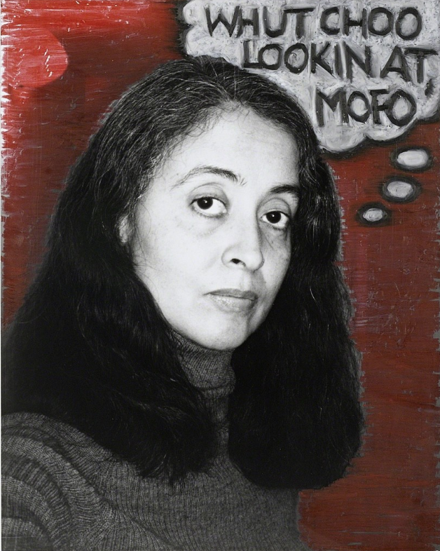 Self-Portrait as Nice White Lady, 1995