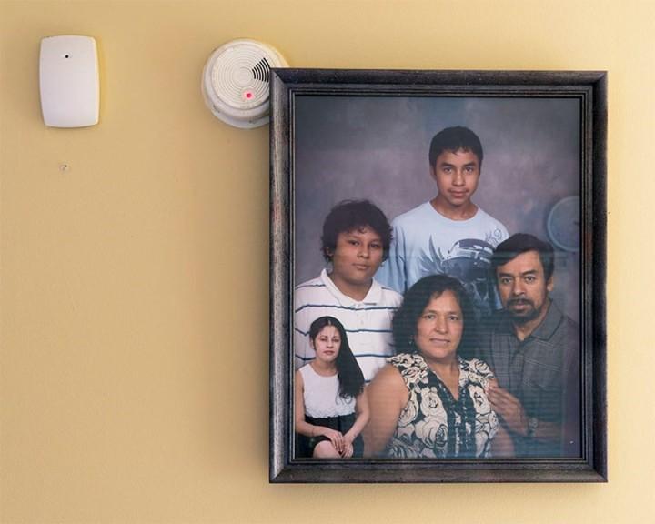 Diego Camposeco, Gerardo_s Family, 2018
