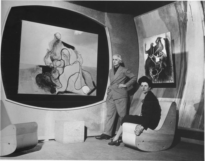 Peggy-Guggenheim-and-Max-Ernst.-Via-huffingtonpost.com_